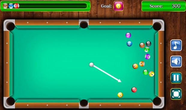 PoolBilliard بازی HTML5