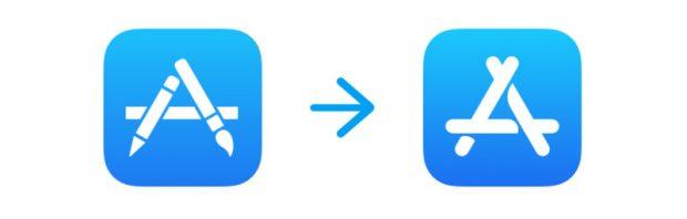 تغییر آیکون اپ استور در نسخه آزمایشی iOS 11