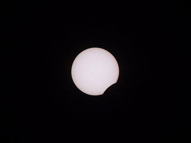 مراحل مختلف خورشید گرفتگی مرداد 96
