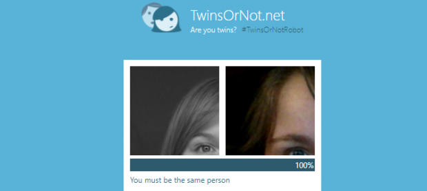 تشخیص شباهت میان دو چهره