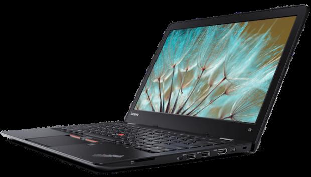 بهترین لپ تاپ های زیر 500 دلار : Lenovo ThinkPad 13
