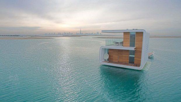 خانه های زیر آبی