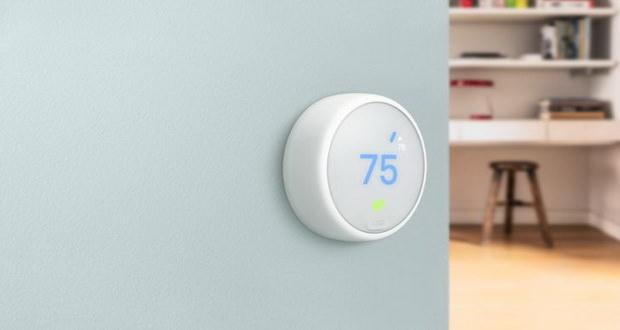 ترموستات E ، محصول شیک و ارزان شرکت نست لبز برای کنترل دمای منزل