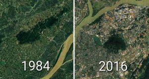 رشد شهرهای چین