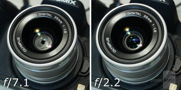 دیافراگم دوربین ال جی وی 30