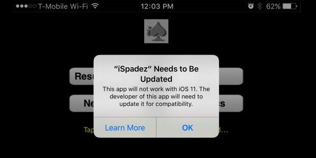 اپلیکیشن 32 بیتی آیفون