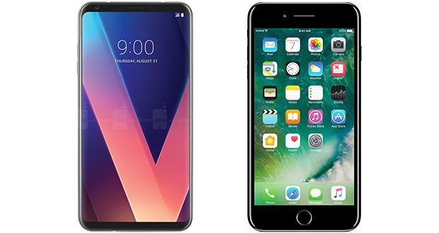 مشخصات فنی گوشی ال جی V30