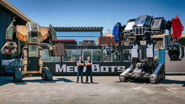 نمایش قدرت تخریب و سرعت مانور ربات Eagle Prime از شرکت MegaBots در ویدیوی دیدنی