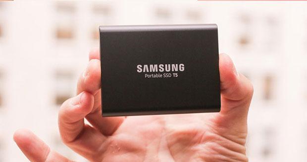 درایو اکسترنال SSD سامسونگ تی 5