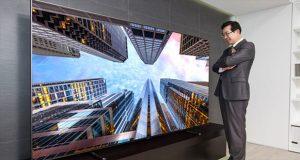 بزرگترین تلویزیون QLED جهان