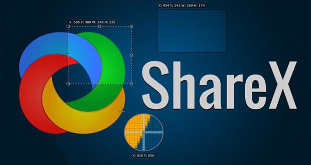 اپلیکیشن ویندوزی ShareX