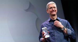 رونمایی تیم کوک از آیفون جدید اپل