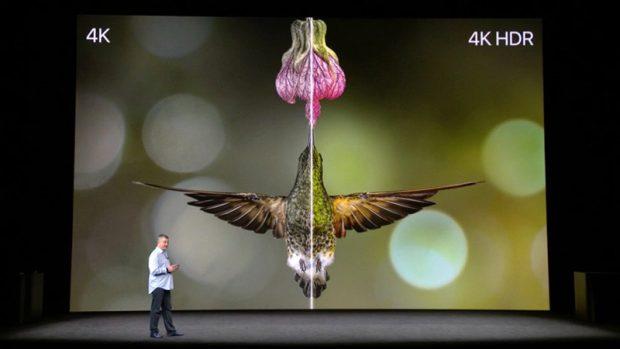 تلویزیون اپل تی وی 4K با پشتیبانی از تکنولوژی HDR معرفی شد