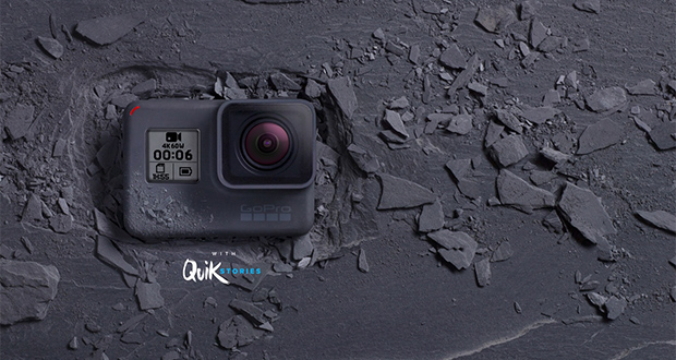 دوربین گوپرو هیرو 6 بلک معرفی شد؛ ضبط 4K با سرعت 60 فریم بر ثانیه