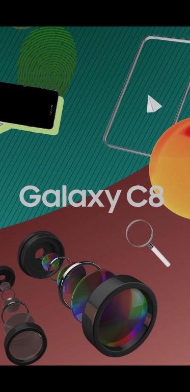 سامسونگ گلکسی C8 در راه است؛ گوشی دیگری از سامسونگ با دوربین دوگانه