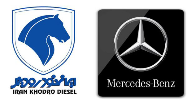 قرارداد مرسدس بنز با ایران خودرو