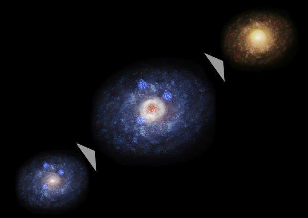 انواع کهکشان ها