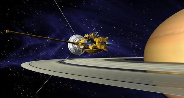 آیا سوختن کاوشگر فضایی کاسینی در اتمسفر زحل از زمین قابل رویت است؟!
