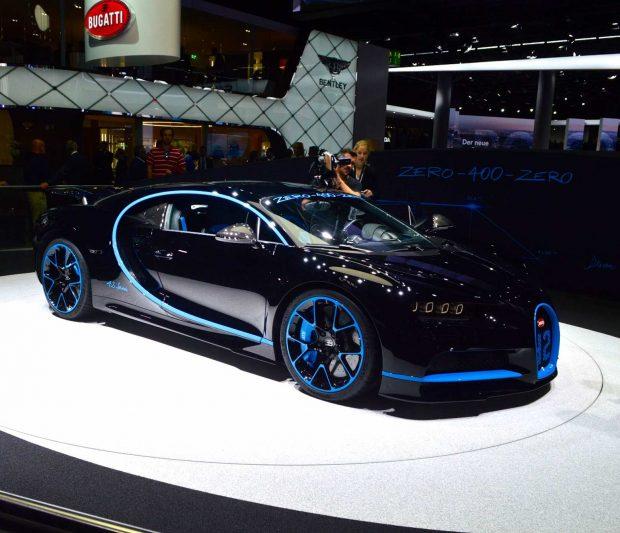 خودرو بوگاتی شیرون (Bugatti Chiron) رکورد سرعت صفر تا چهارصد کیلومتر بر ساعت را شکست!