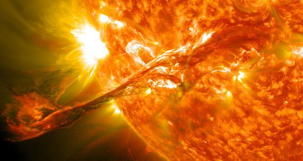 وقوع بزرگترین شراره خورشیدی 12 سال گذشته و تاثیرات آن بر زمین