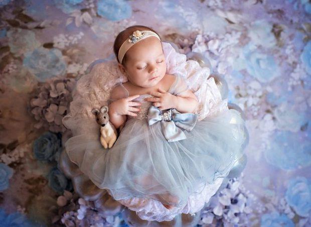 عکسهایی چشمنواز و بامزه از بازسازی شخصیت های دیزنی به کمک نوزادان