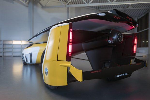 خودرو پرنده آیروموبیل