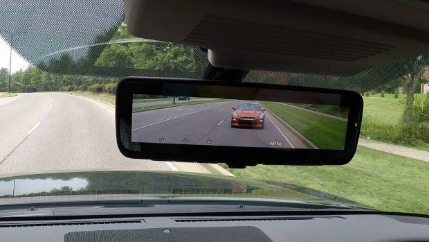 آینه عقب هوشمند برگ برنده خودرو شاسی بلند نیسان آرمادا 2018 + ویدیو