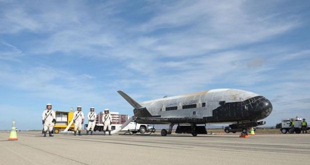 فضاپیمای مرموز آمریکا