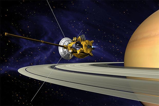 ماموریت نهایی فضاپیمای کاسینی