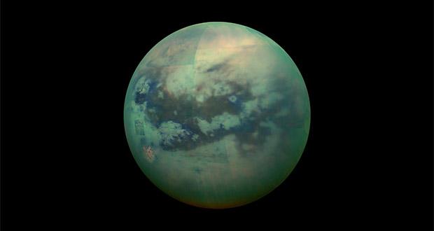 کشف جزایر اسرارآمیز در قمر تیتان