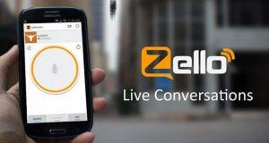 اپلیکیشن واکی تاکی Zello