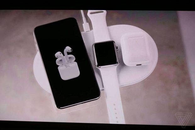 شارژر وایرلس AirPower آیفونها، اپل واچ و ایرپاد جدید اپل را شارژ خواهد کرد