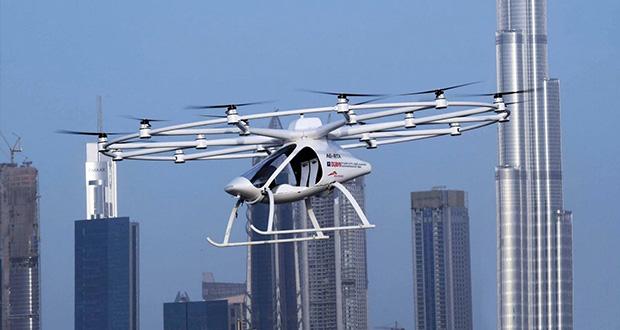 ولوکوپتر : نخستین تاکسی پرنده خودران جهان در شهر دبی