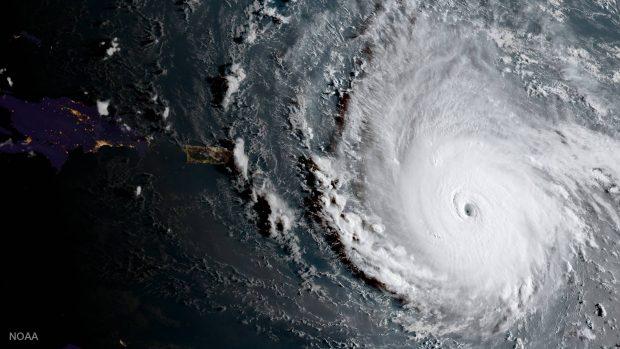 عظمت طوفان ایرما را در تازهترین ویدیو منتشرشده توسط ایستگاه فضایی بین المللی ببینید