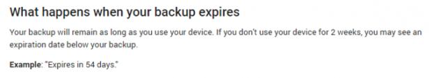 حذف خودکار بکاپ اندروید