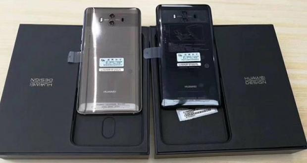 تصاویری از جعبه گشایی هواوی میت 10 (Huawei Mate 10) ساعاتی پیش از رونمایی منتشر شد