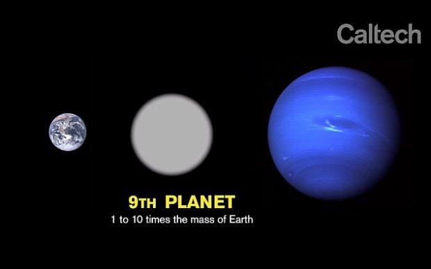 سیاره نهم منظومه خورشیدی