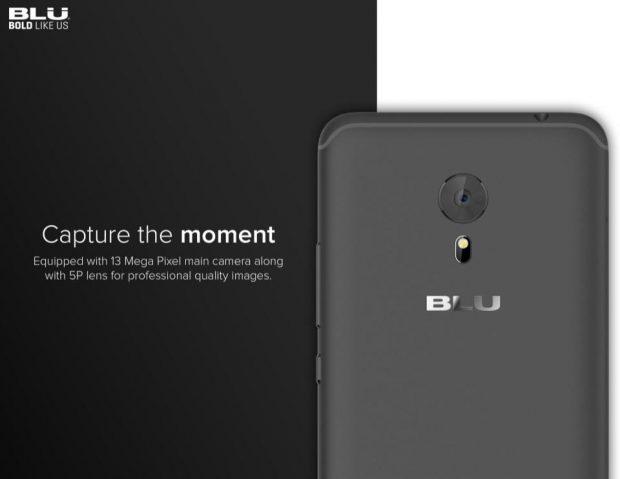 گوشی بلو اس 1 (Blu S1) عرضه شد؛ میانردهای با دوربین 13 مگاپیکسلی