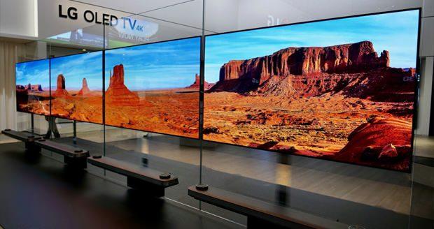 تلویزیون های OLED 2017 ال جی