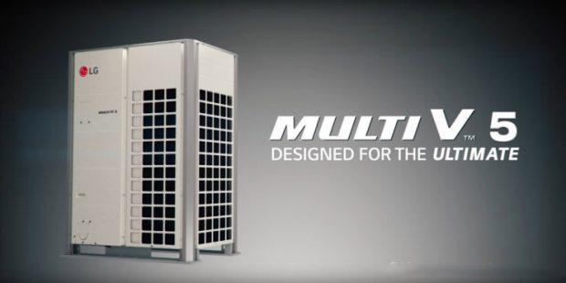 سیستم تهویه مطبوع ال جی Multi V 5
