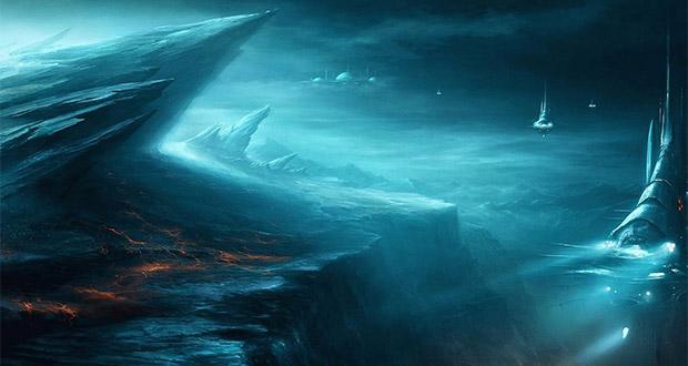 وجود حیات بیگانه در زیر یخ های فرازمینی