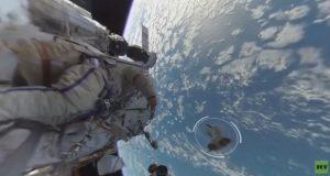 اولین ویدیو 360 درجه ثبتشده از یک راهپیمایی فضایی را اینجا ببینید