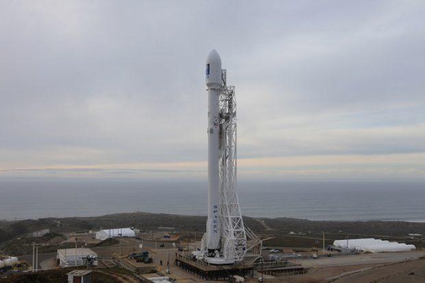 دوازدهمین راکت فالکون 9 در سال 2017