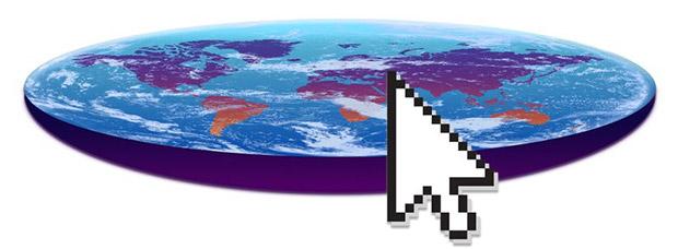 تبلیغات برای نظریه زمین تخت