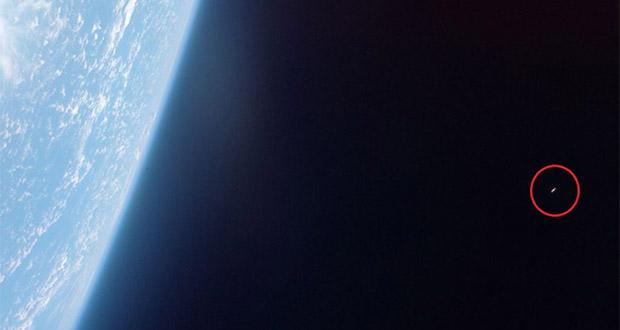مشاهده فضاپیمای بیگانه