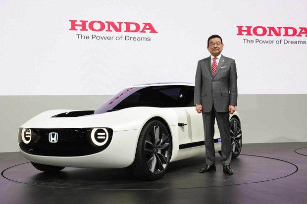 خودرو مفهومی هوندا اسپورت الکتریکی