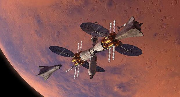 سفر انسان به مریخ