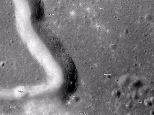 کاوش در فضا با گوگل مپس