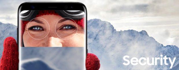 سیستم تشخیص چهره گلکسی S9