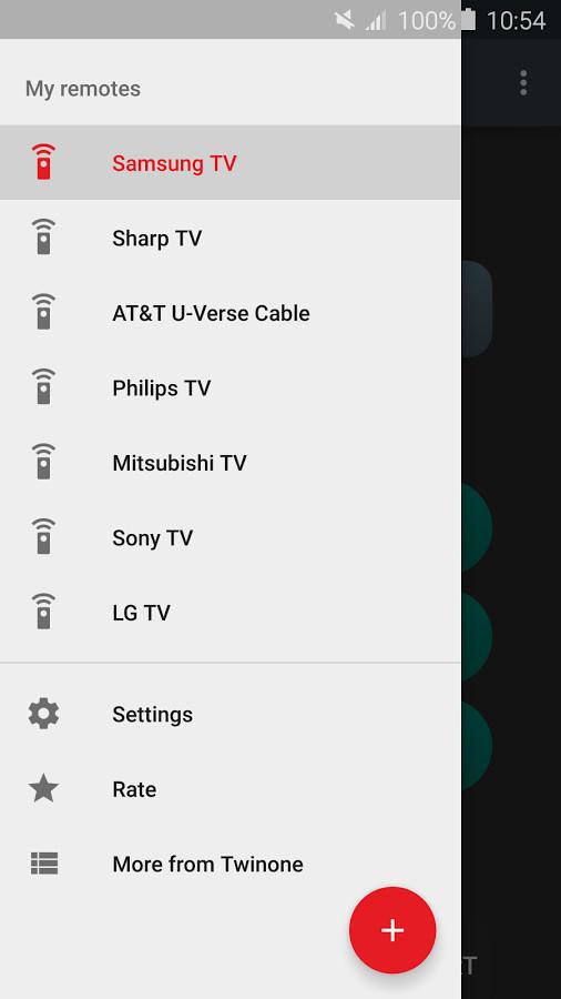 برنامه های کنترل تلویزیون